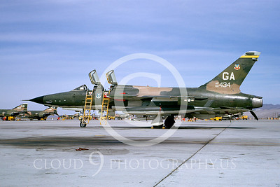 F-105-USAF 00005 Republic F-105G Wild Weasel # 60434 George 15 March 1974 by Peter B Lewis