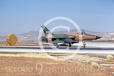 CHUTE 00040 Republic F-105 Thunderchief USAF July 1980 by Peter B Lewis