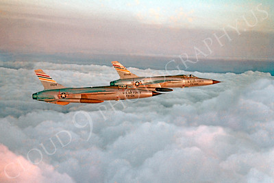 F-105USAF 00010 Republic F-105DThunderchief USAF 10124 by Clay Jansson
