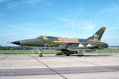 F-105USAF 00033 Republic F-105 Thunderchief USAF 60504 two MiG kills with bombs September 1991 by David W Menard
