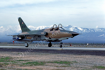 F-105USAF 00011 Republic F-105G Thunderchief Wild Weasel USAF 62446 George AFB by Peter J Mancus