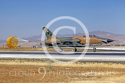 CHUTE 00042 Republic F-105G Thunderchief WildWeasel USAF July 1980 by Peter B Lewis