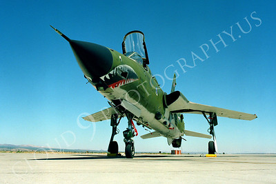 SM 00135 Republic F-105G Thunderchief Wild Weasel USAF George AFB by Peter J Mancus