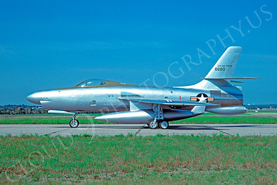 PT 00001 Republic XF-91 Thunderceptor USAF 6680 by David W Menard