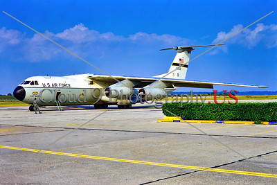 C-141USAF -437th MAW 001 A static white gray Lockheed C-141A Starlifter, USAF jet cargo aircraft, MAC, 60162, 10-1972, NAS Jacksonville, military airplane picture by Stephen W  D  Wolf      853_9319     Dt