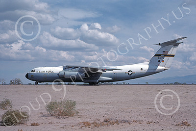 C-141AUSAF 00005 A taxing USAF Lockheed C-141A StarLIfter 60172 Edwards AFB 10-1976 military airplane picture by Michael Grove, Sr