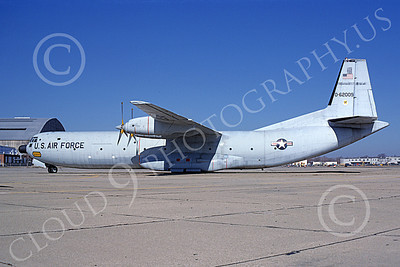 C-133USAF 00012 A static Douglas C-133 Cargomaster USAF 62009 4-1979 military airplane picture by Peter B Lewis