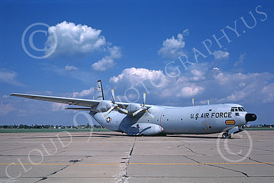 C-133USAF 00016 A static Douglas C-133 Cargomaster USAF 562009 8-1978 military airplane picture by Paul O'Conner