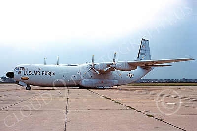 C-133USAF 00011 A static Douglas C-133 Cargomaster USAF 62008 4-1979 military airplane picture by Hal Burris
