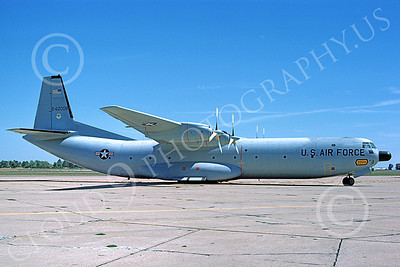 C-133USAF 00015 A static Douglas C-133 Cargomaster USAF 562009 1-1971 military airplane picture by Oscar Tavor