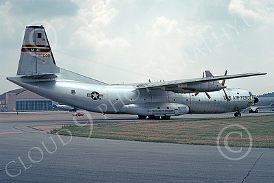 C-133USAF 00013 A static Douglas C-133 Cargomaster USAF 62008 3-1981 military airplane picture by Bob Mann