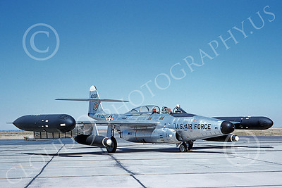 F-89USAF 00021 A static Northrop F-89 Scorpion USAF military airplane picture by Clay Jansson