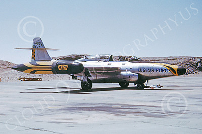 F-89USAF 00023 A static Northrop F-89 Scorpion USAF 32679 437th FIS 1965 military airplane picture by Clay Jansson