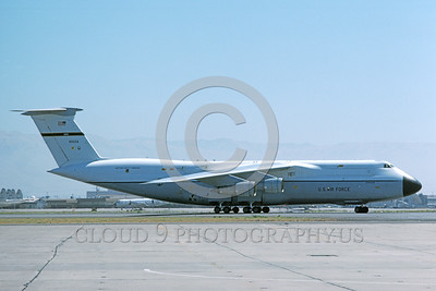 C-5USAF 0013 A taxing Lockheed C-5 Galaxy USAF 90024 NAS North Island 12-1975 military airplane picture by Michael Grove, Sr