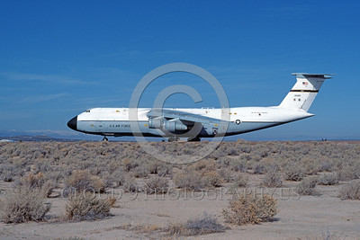 C-5USAF 0019 A taxing Lockheed C-5 Galaxy USAF 700451 Edwards AFB 11-1983 military airplane picture by Michael Grove, Sr