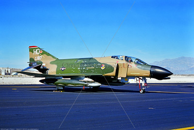 F-4D-USAF-49th TFW 001 A static cam McDonnell Douglas F-4D Phantom II USAF 65617 jet fighter 49th TFW HO tail code Nellis AFB 3-1975 via Stephen W  D  Wolf     BBB_3654     DWT