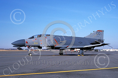 F-4USAF 00153 McDonnell Douglas F-4D Phantom II AFRES 667554 DO MiG KILLER two kills 6 Feb 1987 military airplane picture by Charles B  Mayer