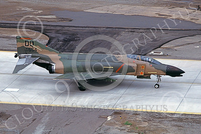 F-4USAF 00083 McDonnell Douglas F-4D Phantom II AFRES 66554 DO MiG KILLER two kills Luke AFB 4 March 1983 military airplane picture by Michael Grove, Sr
