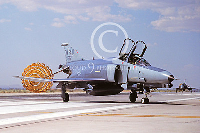 CHUTE 00050 McDonnell Douglas F-4E Phantom II USAF June 1991 by Peter B Lewis