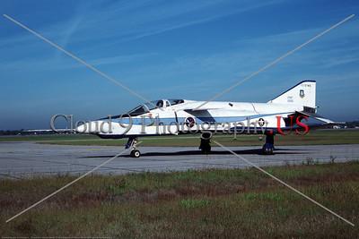 YF-4E-USAF 001 A static McDonnell Douglas YF-4E Phantom II USAF 6212200 W-P AFB 9-1979 military airplane picture by David W  Menard     Dwt copy