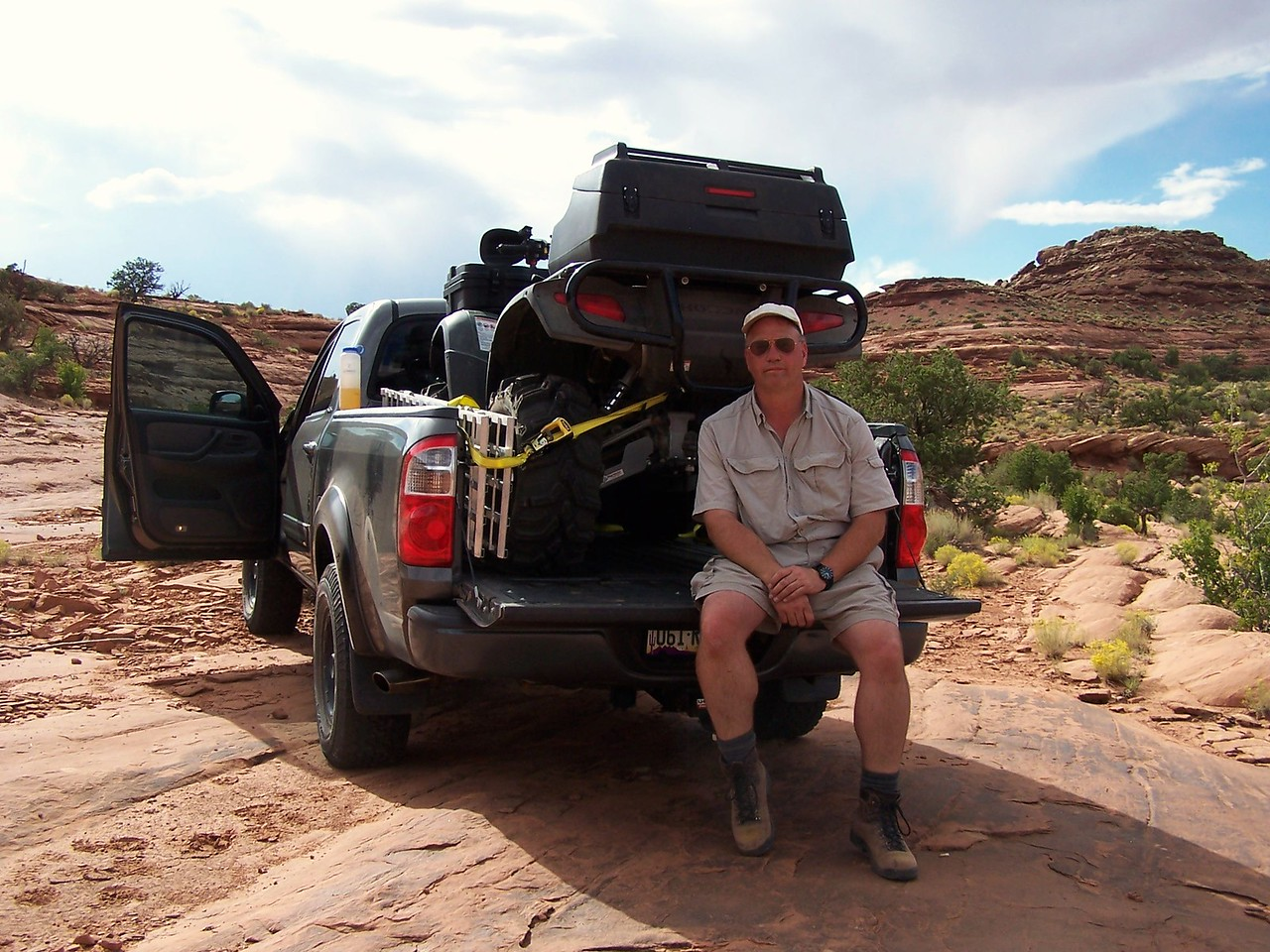 With the ATV loaded and secured, I was ready for the four hour drive back home to Flagstaff.