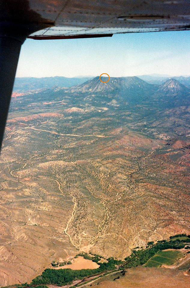 During 1996, I conducted an aerial survey of southern Utah's Square Top Mountain to see if any wreckage remained of the B-52G.