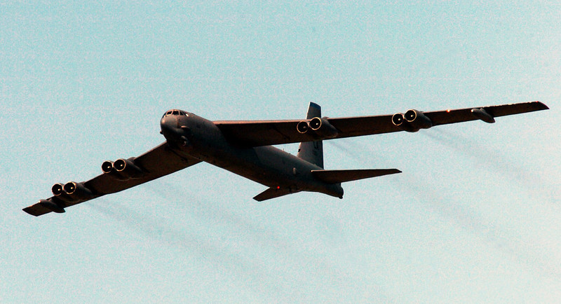 The B-52G (58-0161) was operating out of Robbins AFB in Georgia under call sign LURE 75.
