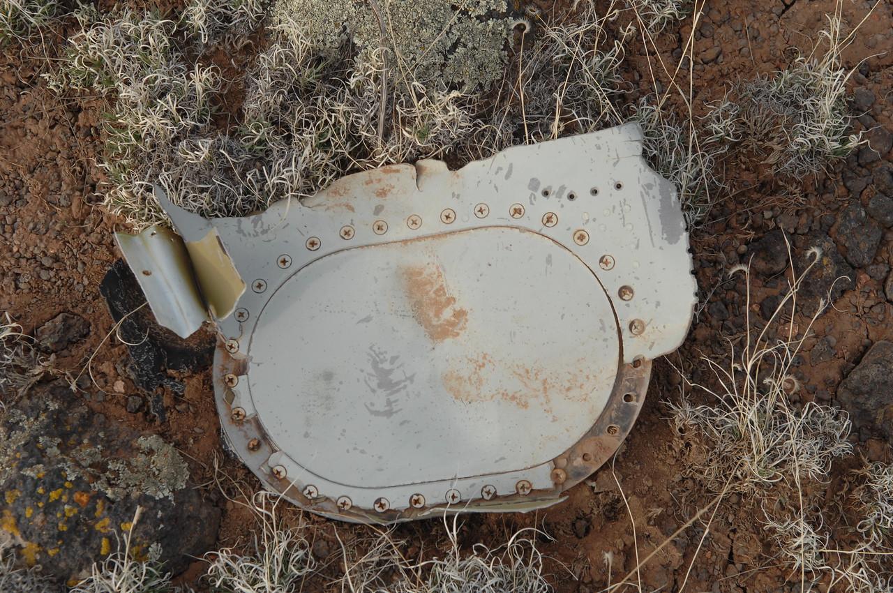 Fuel cell access panel. (2008 LostFlights)