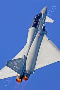 AB - Typ 00048 Eurofighter Typhoon British RAF by Tony Fairey