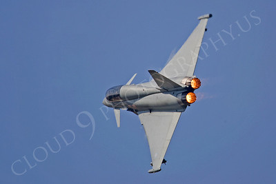 AB - Typ 00010 Eurofighter Typhoon British RAF by Tony Fairey