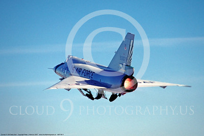 ABF106 00003 Convair F-106A Delta Dart US Air Force by Peter J Mancus