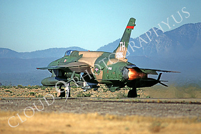 ABF105 00004 Republic F-105 Thunderchief USAF TH November 1980 by Peter J Mancus