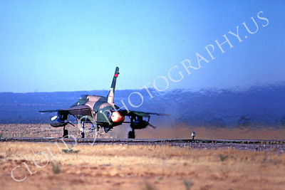 ABF105 00002 Republic F-105 Thunderchief TH tail code at George AFB by Peter J Mancus