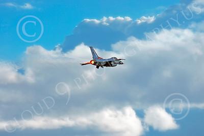 AB - F-16USAF 00234 Lockheed Martin F-16 Fighting Falcon USAF THUNDERBIRD 2004 by Peter J Mancus