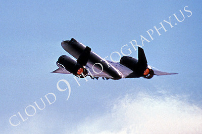 ABSR71 00002 Lockheed SR-71A Blackbird US Air Force 6 October 1986 by Peter B Lewis