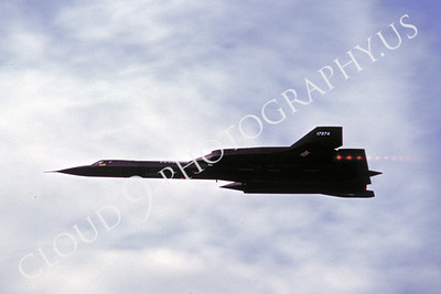 ABSR71 00001 Lockheed SR-71 Blackbird US Air Force 17974 by Peter J Mancus