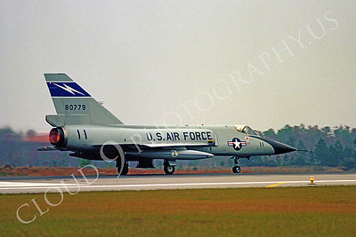 ABF106 00007 Convair F-106 Delta Dart 80779 Florida Air National Guard by Peter J Mancus
