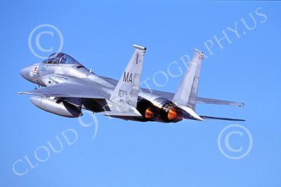 ABF15 00009 McDonnell Douglas F-15 Eagle Massachusetts Air National Guard by Peter J Mancus