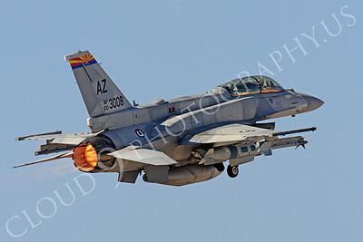 AB-F-16F 00004 Lockheed Martin F-16F Desert Falcon United Arab Emirates Air Force UAEF 003008 in afterburner at Nellis AFB by Peter J Mancus