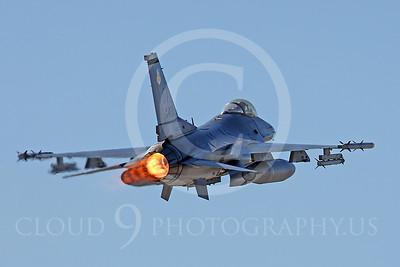ABF-16 00042 Lockheed Martin F-16 Fighting Falcon US Air Force by Peter J Mancus