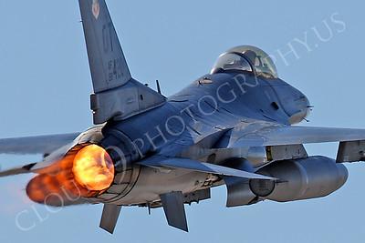 ABF-16 00046 Lockheed Martin F-16 Fighting Falcon US Air Force by Peter J Mancus