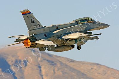 AB-F-16F 00002 Lockheed Martin F-16F United Arab Emirates Air Force UAEAF 003008 Nellis AFB by Peter J Mancus