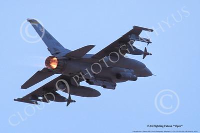 ABF16 00002 Lockheed Martin F-16 Fighting Falcon US Air Force, WA tail code, 90740, by Peter J Mancus