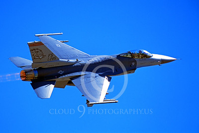 ABF16 00019 Lockheed Martin F-16 Fighting Falcon Arkansas Air National Guard 86285 by Peter J Mancus