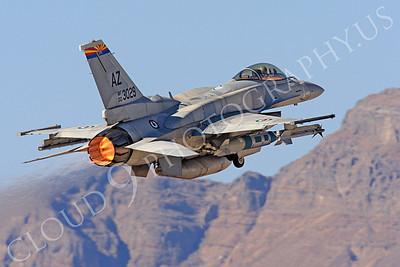 AB-F-16E 00020 Lockheed Martin F-16E Desert Falcon United Arab Emirates Air Force UAEF 003029 in afterburner at Nellis AFB by Peter J Mancus