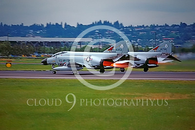 AB-F-4ANG 00150 McDonnell Douglas F-4C Oregon ANG # 40852 Portland June 1986 by Peter B Lewis