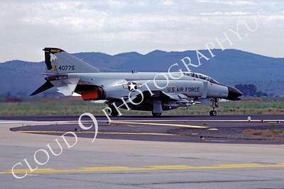 ABF4 00016 McDonnell Douglas F-4 Phamtom II Oregon Air National Guard  June 1986 by Peter B Lewis
