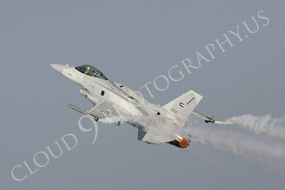 ABF16 00070 Lockheed Martin F-16 Fighting Falcon United Arab Emirates 3056 by Paul Ridgway