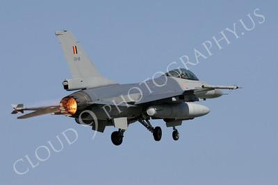 ABF16 00063 Lockheed Martin F-16 Fighting Falcon Belgium Air Force by Paul Ridgway