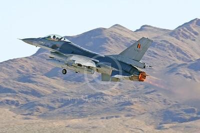 AB - F-16FORG 00036 Lockheed Martin F-16 Fighting Falcon Belgum Air Force FA-83 Nellis AFB by Tim P Wagenknect
